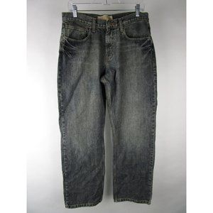 Wrangler Medium Wash Denim Relaxed Straight Jeans